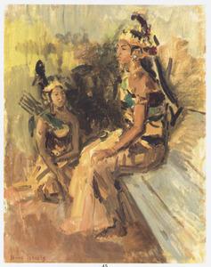 Twee Javaanse dansers
