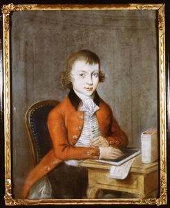 Portret van Jan van der Wallen van Vollenhoven (1775-1846) (mogelijk zelfportret)