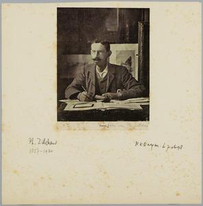 Portret van Philip Zilcken
