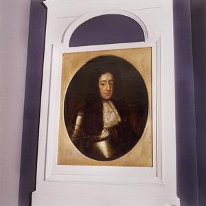 Portret van koning-stadhouder Willem III