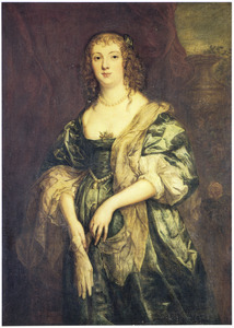 Portret van Anne Carr, Countess of Bedford (1615-1684)