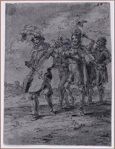 Muzikanten (Suenos 1641, boek III, zesde droom)