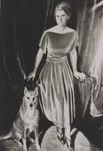 Portret van Wobine Ernestine Bertling (1890-1965)