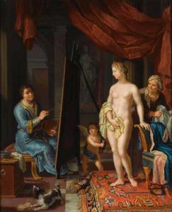 Apelles schildert Campaspe