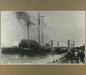 Kraanbrug over de Delfhavense Schie