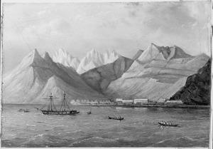 Reis van Suez naar Nagasaki via Oost-Indië: Landingplaats te ?