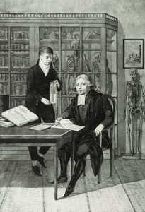 Dubbelportret van Jan Bleuland (1756-1838) en Petrus Koning (1787-1834)
