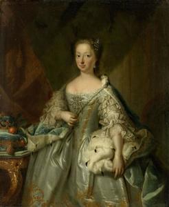 Portret van Anna van Hannover (1709-1759