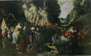 Johannes de Doper predikend