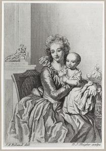 Dubbelportret van Susanna Sofia van der Hoop (1773-1818) en Agnes Hodshon (1793-1827)
