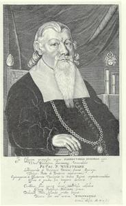 Portret van Peder Pedersen Winstrup (1605-1679), bisschop van Lund