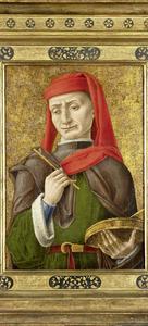 De heilige Damianus (of Cosmas)