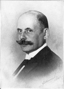 Portret van Willem Adriaan Beelaerts van Blokland (1883-1935)