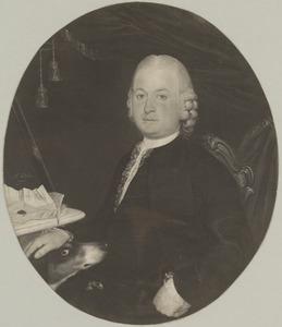 Portret van Dirk de Lange (1731-1803), echtgenoot van Maaijke de Sutter (1740-1824)
