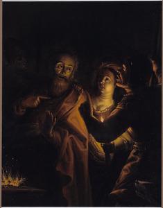 De verloochening van Petrus (Matteüs 26:69-75)