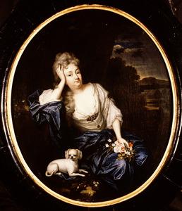 Portret van Anna Constantia Schaep ( -1727)