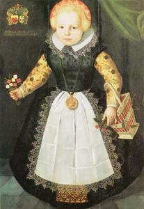 Portret van van Anna van Popma (1615-1618)