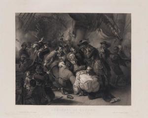 Admiraal Michiel de Ruyter gewond tijdens Slag bij Agosta