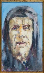 Portret van een oude man of vrouw