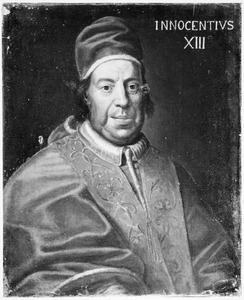 Portret van Michelangiolo dei Conti (1655 -1724), paus Innocentius XIII