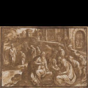 De apostel Paulus spreekt tot de vrouwen van Philippi