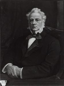 Portret van Gozewijn Jan Loncq (1810-1887)