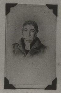 Portret van Adrianus Jonckers (1776-1840)