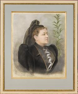 Portret van Maria Cornelia van Heeckeren van Wassenaer (1855-1912)