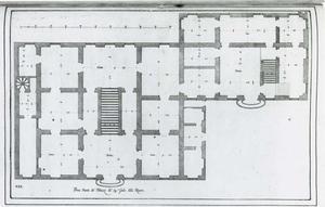 Palazzo Rovere: Grondplan