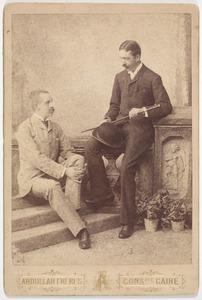 Portret van Otto Johan Willem Carel van Bylandt (1852-1929) en Johan Hora Fransen van de Putte (1854-1907)
