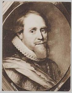 Portret van prins Maurits van Oranje- Nassau (1567-1625)