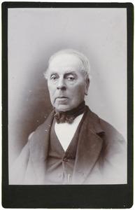 Portret van Jan van der Baan (1807- )