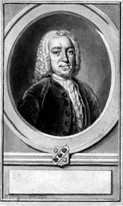 Portret van Johan Pieter Recxstoot (1701-1765)