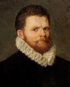 Portret van Gillis Mostaert I (1528-1598)