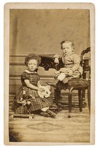 Portret van Alida Baudina Suringar (1863-1948) en Jan Valckenier Suringar (1864-...)