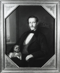 Portret van Johannes Cornelis Clotterbooke Patijn (1832-1876)