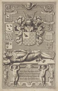 Grafsteen van Gerard van Randenrode, gezegd van der Aa (....-1600)