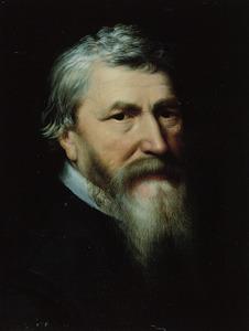 Portret van Lubbert Gerritsz. genaamd Yserman (1535-1612)