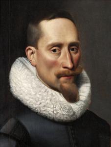 Portret van Gustav II Adolf, Koning van Zweden (1594-1632)
