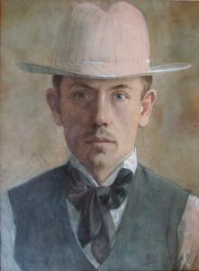 Portret van Sipke van der Schaar