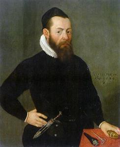 Portret van een 50-jarige man