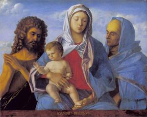 Maria met kind, Johannes de Doper en de heilige Elisabeth