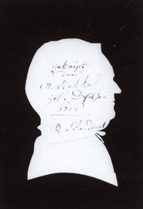Portret van B. Standaart