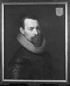 Portret van Francois van der Burch