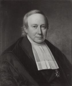 Portret van Bernard ter Haar (1806-1880)