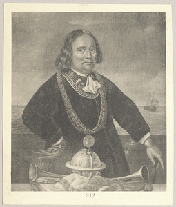 Portret van Jan Cornelisz. Meppel (1609-1669)