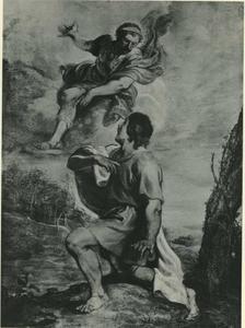 Romulus verschijnt aan Julius Proculus