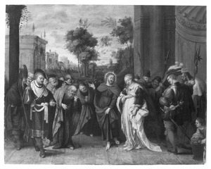 Christus en de overspelige vrouw (Johannes 8:3-11)