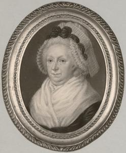 Portret van Maria Catharina d' Averhoult (1727-1808)