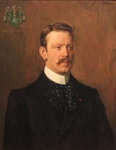 Portret van Johan Adriaan Feith (1858-1913)